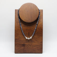 Load image into Gallery viewer, Silver and Sodalite Necklace 23