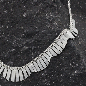 Silver Necklace 14