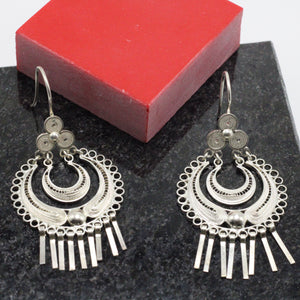 Silver Filigree Earrings 10