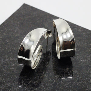 Oval Silver Earrings 27