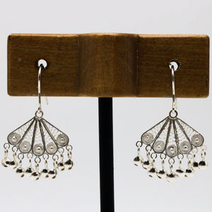 Silver Filigree Earrings 32