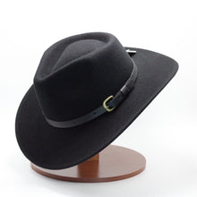 Load image into Gallery viewer, Condor Black Wool Hat