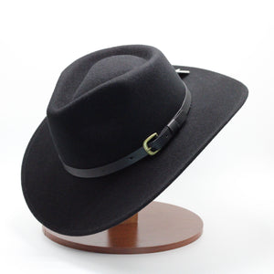 Condor Black Wool Hat