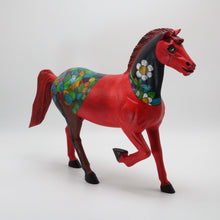 Load image into Gallery viewer, Red Tree Horse