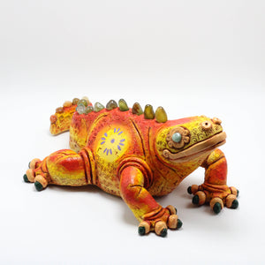 Ceramic Modeled Iguana 7