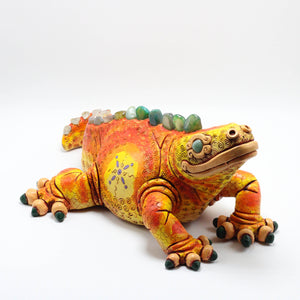 Ceramic Modeled Iguana 8