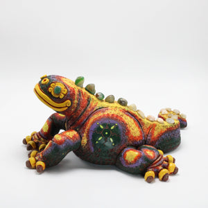 Ceramic Modeled Iguana 11