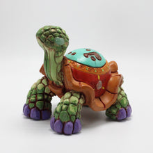 Load image into Gallery viewer, Ceramic Modeled Small Tortoise 14