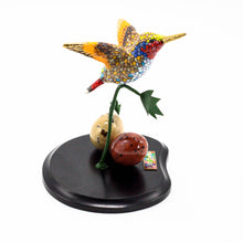 Load image into Gallery viewer, Hummingbirds on Wood Base 4