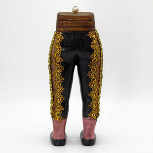 Black Bullfighter Pants sculpture