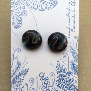 swirled buttons