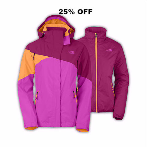 NORTHFACE CINNABAR WOMEN'S TRICLIMATE JACKET