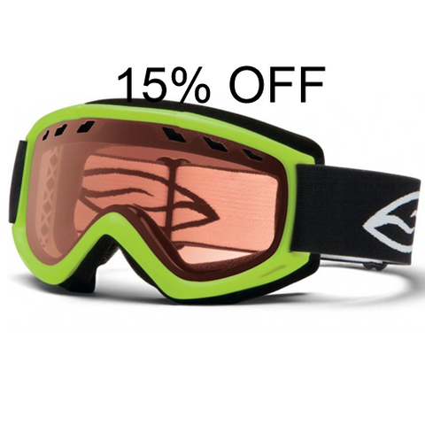 Smith Cascade Goggle with RC36 Lens