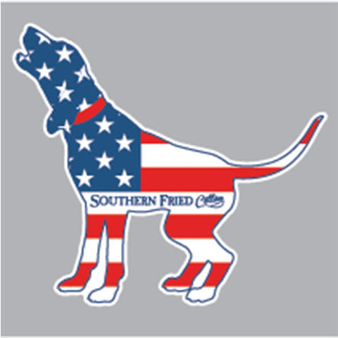 Southern Fried Cotton AMERICAN HOUND DECAL