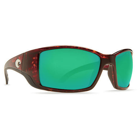 Costa Del Mar Blackfin Shiny Tortoise w/400G Green Lens.