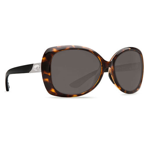 Costa Del Mar Sea Fan Retro Tortoise/Black Temples w/580P Gray Lens