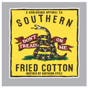 Southern Fried Cotton DON'T TREAD PATCH DECAL