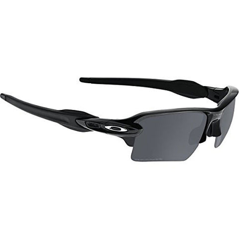 Oakley Flax 2.0 XL Polished Black w/ Polarized Black Irridium Lens.