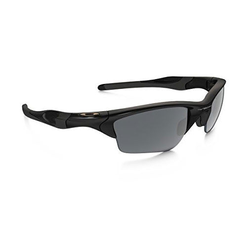 Oakley Half Jacket 2.0 XL Polished Black w/Black Irridium Lens.