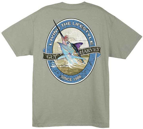 Guy Harvey Lifestyle Label T-Shirt