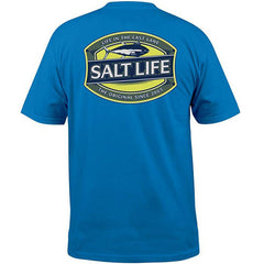 Salt Life Life In The Cast Lane Pocket Tee