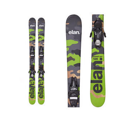 Elan Pinball Pro Kids Skis with 7.5 QT Bindings