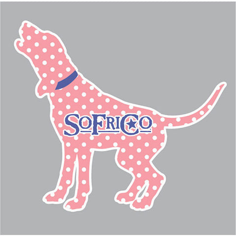 Southern Fried Cotton POLKA HOUND DECAL