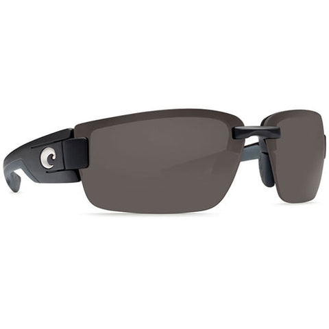Costa Del Mar Rockport Black w/580P Gray Lens