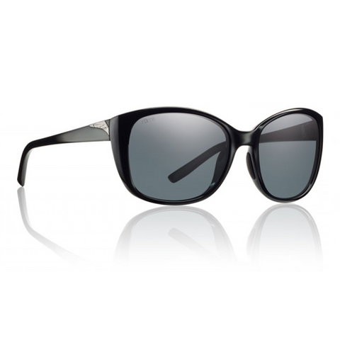 Smith Lookout Black Polarized Gray Sunglasses