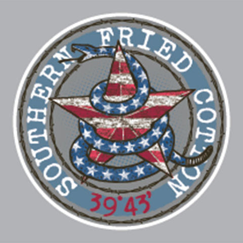 Southern Fried Cotton DON'T TREAD STAR DECAL