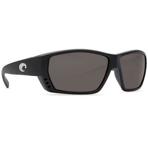 Costa Del Mar Tuna Alley Matte Black w/580P Gray Lens