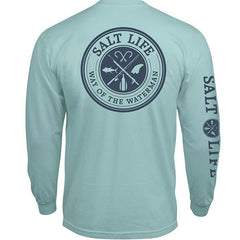 Salt Life Way Of The Waterman Pocket Long Sleeve Tee