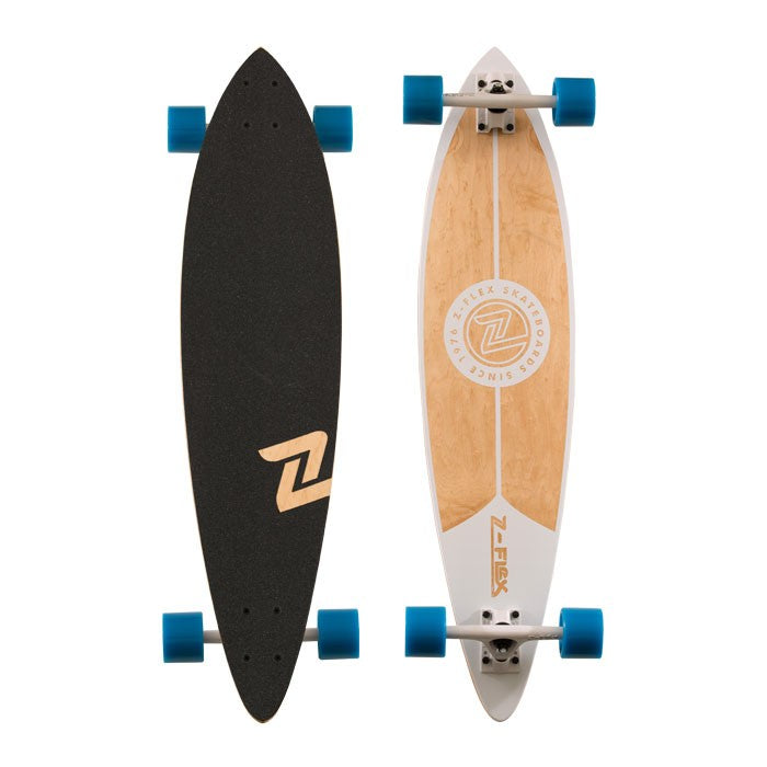 "Z-Flex 38"" PINTAIL LONGBOARD WHITE"
