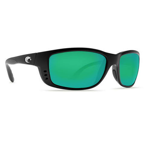 Costa Del Mar Zane Matte Black w/580G Green Lens.