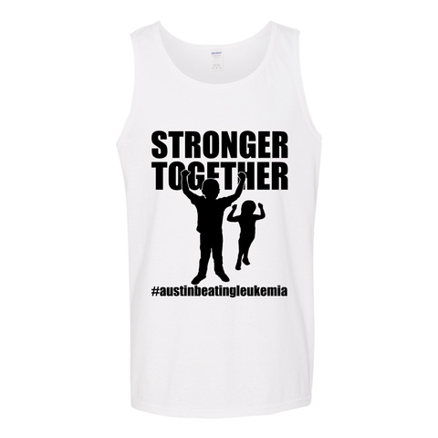 Stronger Together - Austin Beating Leukemia Unisex Adults - Kids Tank Top