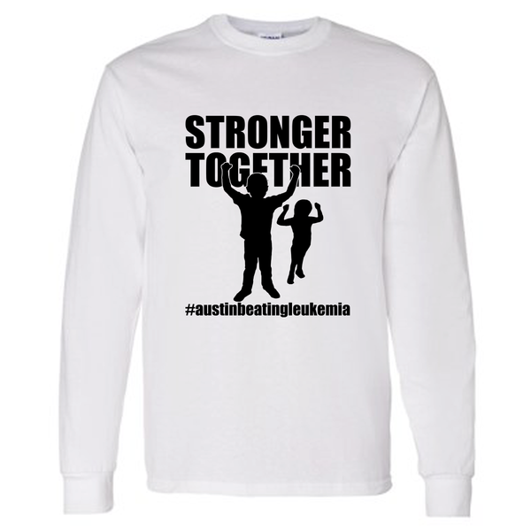 Stronger Together - Austin Beating Leukemia Unisex Adult Long Sleeve T-Shirt