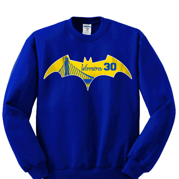 Bat Golden State Warriors Sweatshirt Sports Clothing