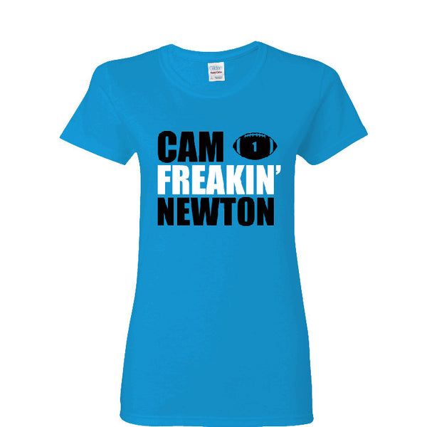 Cam Freakin' Newton Panthers Ladies T-shirt Sports Clothing