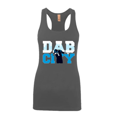 Dab City Panthers Ladies Jersey Racerback Tank Top Sports Clothing