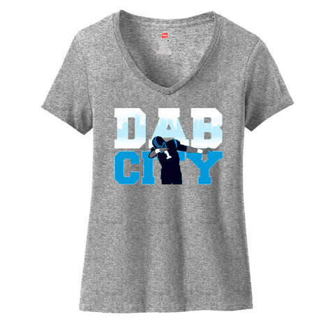 Dab City Panthers Ladies V-neck T-shirt Sports Clothing