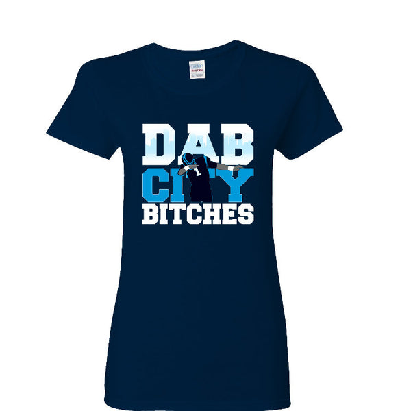 Dab City Bitches Panthers Ladies T-shirt Sports Clothing
