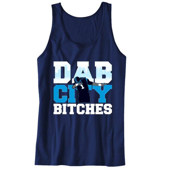 Dab City Bitches Panthers Unisex Tanks Sports Clothing