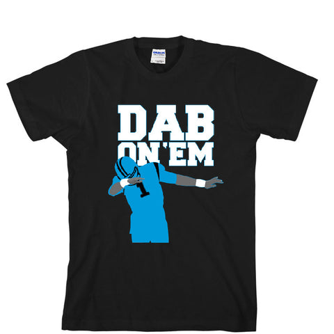 Dab On 'EM Panthers Unisex T-shirt Sports Clothing
