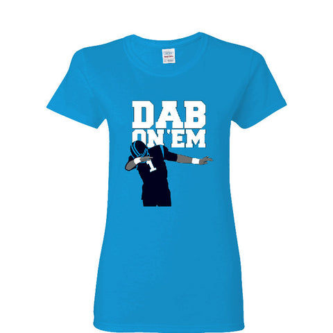 Dab On 'EM Panthers Ladies T-shirt Sports Clothing