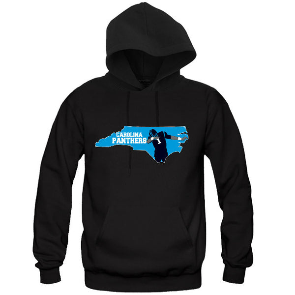 Map Carolina Panthers Hoodie Sports Clothing