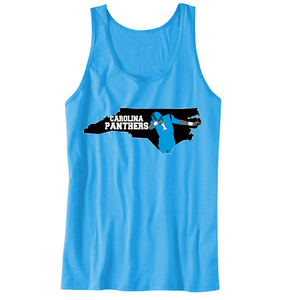 Map Cam Carolina Panthers Unisex Tanks Sports Clothing
