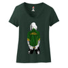 Marilyn Monroe Oakland A's Ladies V-neck T-shirt Sports Clothing