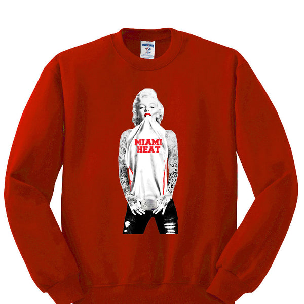 Marilyn Monroe Heat Sweatshirt Sports Clothing
