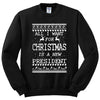 All What i Want For Christmas is a new President Unisex Crewneck Sweatshirt