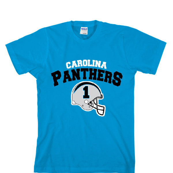 Carolina Panthers Helmet Unisex T-shirt Sports Clothing